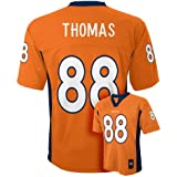 Demaryius Thomas #88 Denver Broncos NFL Youth Team Jersey Orange