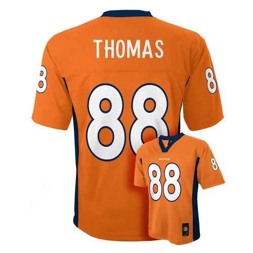 Demaryius Thomas Denver Broncos # 88 Youth Jersey Orange Foo