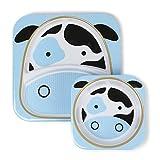 Skip Hop Zoo - Set vajilla, diseño cow, multicolor