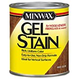 Minwax 260904444 Interior Wood Gel Stain, 1/2 pint, Red Elm (Color: Red Elm, Tamaño: 1/2 Pint)