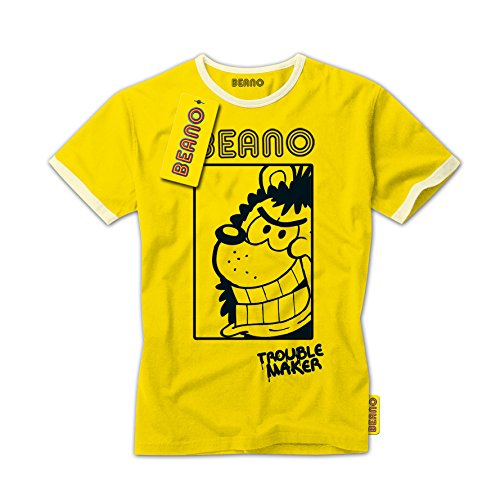 beano-t-shirt-classico-ragazzo-yellow-8-10-anni