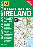 Road Atlas Ireland (Aa Road Atlas)