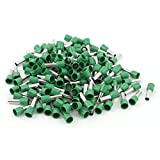 Wire Crimp Insulated Ferrule Cord End Terminal AWG 8 150pcs Green