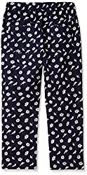 Elle Girls' Trousers (EKTR0061_Insignia Blue_9 - 10 years)