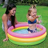Gifts Online Inflatable Baby Pool, Multi Color (2-feet)