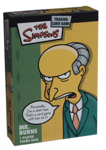 The Simpsons Trading Card Game: Mr. Burns - 1