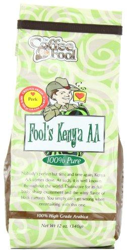 The Coffee Fool Fool'S Kenya Aa, Perk, 12 Ounce