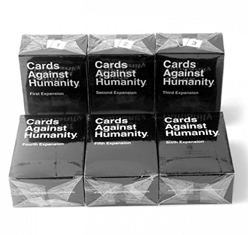 Cards Game Against Humanity: The 1st 2ed 3rd 4th 5th 6th Expansion, CA version