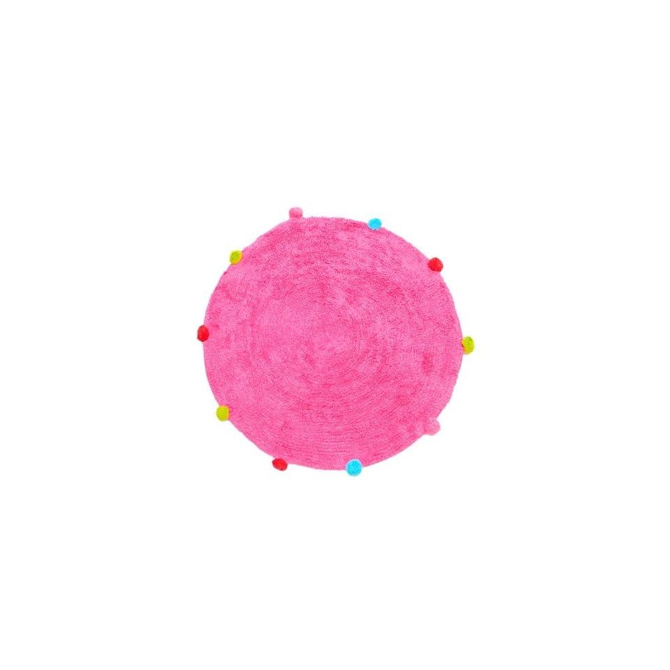 Ikea Pink Round Circular Rug Ringum 70cm Diameter On Popscreen
