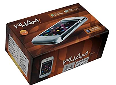 Wham 3G Android Smartphone WD35 ( Blue )