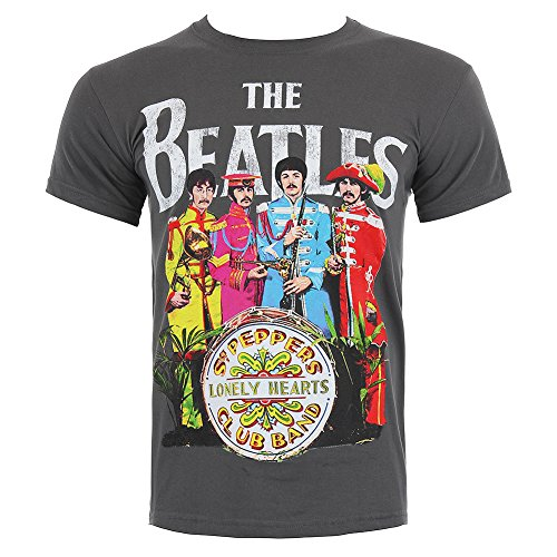 The Beatles Sgt Pepper Stampa T Shirt - Large
