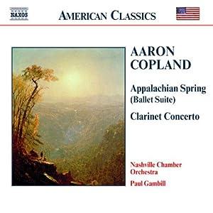 Copland - Appalachian Spring (suite) / Concerto pour clarinette
