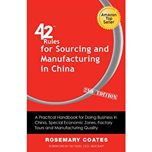 42 Rules for Sourcing and Manufacturing in China Audiobook