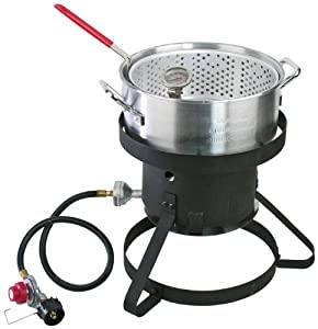 Cajun Injector Gas Fish Fryer by Cajun Injector