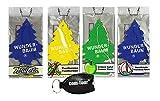 Wunderbaum by COM-FOUR® Lufterfrischer Duftbaum - Erfrischt die Luft in