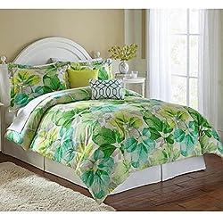 Loft Green Leaf 5-pc. Comforter Set