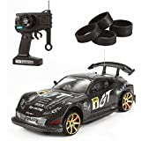 DeluxeRC Fast Drift RC Racer 1:14 4WD Remote Control (Racing Tires & Drift Tires - Style H) 49Mhz)