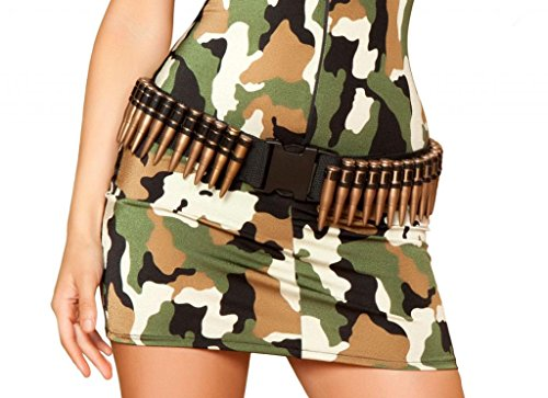 Sexy Military Fake Bullet Belt Halloween Accessory