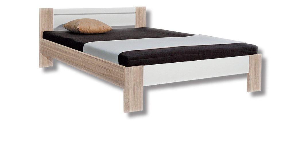 Futonbett mit Matratze und Lattenrost, Liegefläche 140x200cm, jetzt bestellen