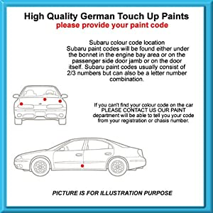 Suzuki High Quality German Car Touch Up Paint 30Ml Zcg R.D Kashmir Blue Pearl Met From 04 - 12 from MACPACARPARTS