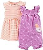 Carter's Baby Girls' 2 Piece Dress & Romper Set (Baby)