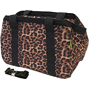"JanetBasket Leopard Eco Bag, 18 by 10 by 12"" from JanetBasket"