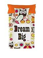 Valentina Juego De Funda Nórdica Dream Big Owl (Multicolor)