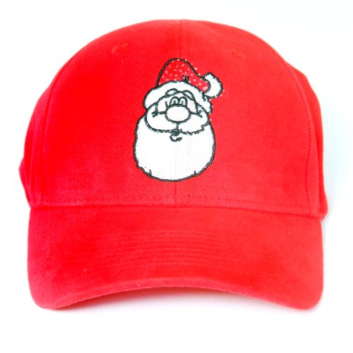 Santa Led Light-Up Logo Adjustable Hat