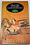img - for Solo dime donde lo hacemos (Biblioteca erotica) (Spanish Edition) book / textbook / text book