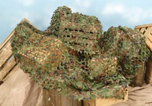 Forum Novelties Green Camouflage Netting, 6 X 8' Toy, Kids, Play, Children front-761267