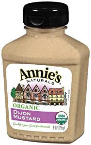 Annie's Organic Dijon Mustard, 9-Ounces (Pack of 6)