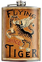 Flying Tiger Juice Stainless Steel Flask