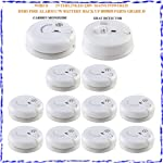 Tc304- Wired Interlinked 230v Mains Powered Hmo Fire Alarm C/w Battery Back Up Bs5839 Part6 Grade D by DIGITECK