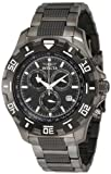 Invicta Mens 6412 Python Collection Chronograph Gun Metal Stainless Steel Watch