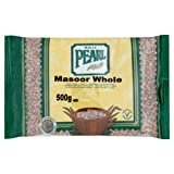 White Pearl Masoor Whole 500 g (Pack of 10)