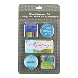 DaySpring Inspiration for The Heart Magnet Seet, 5 Count (41666)