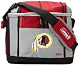 NFL Washington Redskins 24 Can Soft Sided Carry Coleman Cooler