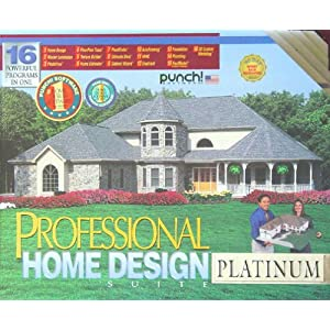 Punch pro home design suite platinum 10 0 3 cds cheap for Punch home landscape design architectural series v18 crack