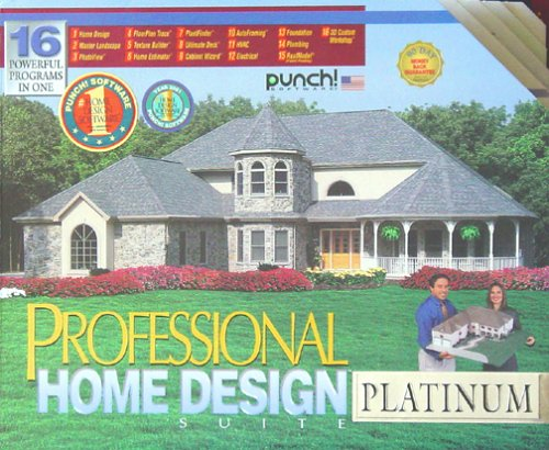 Very cheap cad discount punch professional home design for Punch home design