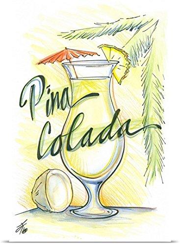 Pina Colada poister