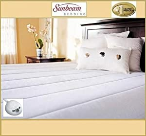 Twin RRP$160 Sunbeam Luxury Padded Model ~Dynasty Comfort~ Heated Heating Warming Electric Mattress Pad