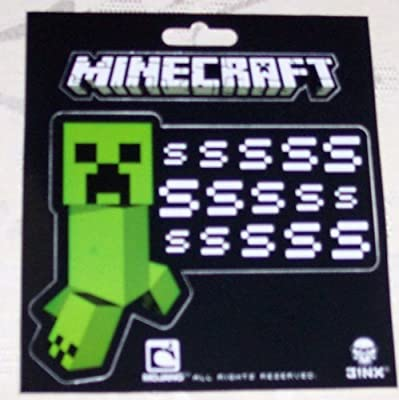5x5 Minecraft - Creeper Ssssss Sticker