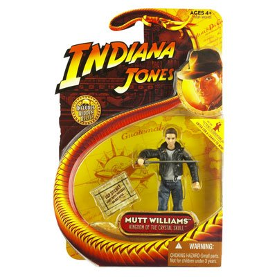 Indian Jones Mutt Williams Crystal Skull Action Figure with Jacket - 1
