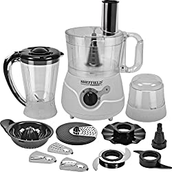 SHEFFIELD CLASSIC SH 1021 FP with 11 attachments FOOD PROCESSOR (white)