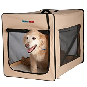 Great Paw Chateau Soft Dog Crate, X-Large