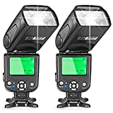 Neewer® Two E-TTL Flash Speedlite for Canon DSLR Camera Such as 5D Mark II 5D Mark III 700D 650D 600D 1100D 550D 500D 100D 6D(NW-562)