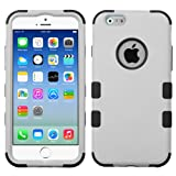 Product B00M7KBPZU - Product title MYBAT Rubberized Tuff Hybrid Protector Case for iPhone 6 - Retail Packaging - Gray/Black