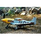 Guillows P 51 Mustang Balsa Flying Model Kit 1:16 Scale Balsa Wood Kit