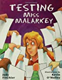 Testing Miss Malarkey (0802776248) by Judy Finchler