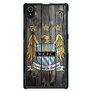 Jugaaduu Manchester City Back Cover Case For Sony Xperia Z2